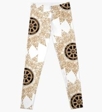 Dhammamongkol Temple Star Leggings