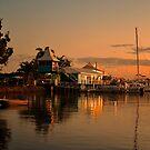 Carlo Point Sunset. Queensland, Australia. by Ralph de Zilva