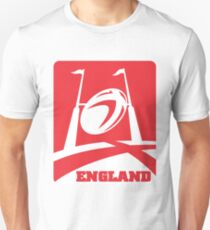 rugby ball goal post england Unisex T-Shirt