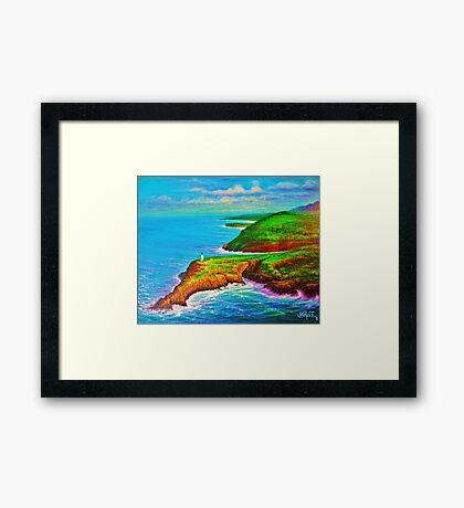 Kiluea Lighthouse Kauai Framed Print