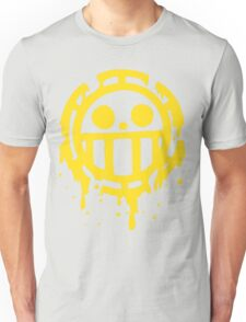 Heart pirates trafalgar law one piece Unisex T-Shirt