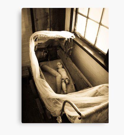 Macabre Dolly Canvas Print