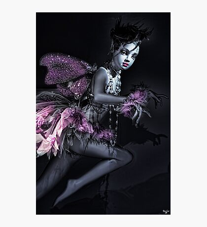 NY Mannequin Series #2: Nixie, the Fairy Princess Photographic Print