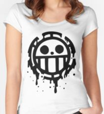Heart pirates trafalgar law one piece 2 Women's Fitted Scoop T-Shirt