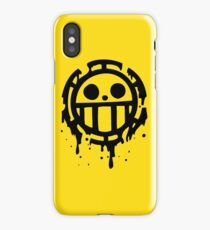 Heart pirates trafalgar law one piece 2 iPhone Case/Skin