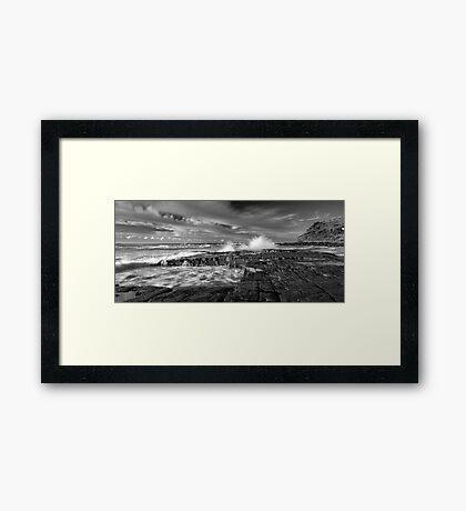 Fine Lines Framed Print