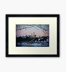 Zug Island Framed Print