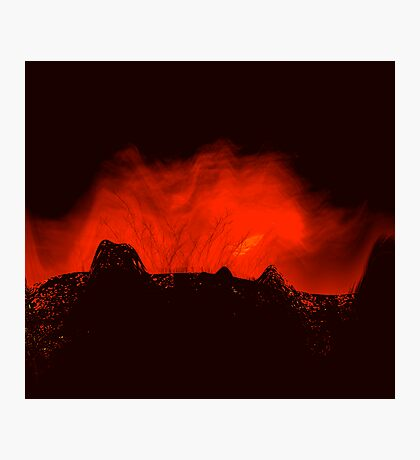 ancient times..... volcano fire  Photographic Print