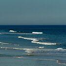 Ocean off St. Augustine Beach, Florida by Eileen Brymer