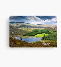 Loch Gynack, Scottish Highlands Canvas Print