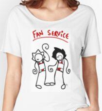 Fan Service Women's Relaxed Fit T-Shirt
