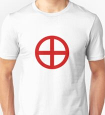 Red Point Circle Unisex T-Shirt