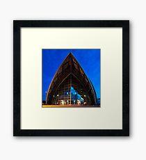 Armadillo, Glasgow, Scotland Framed Print