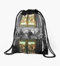 Window Reflection Drawstring Bag