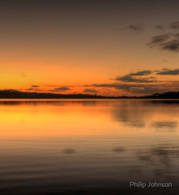 Lines - Narrabeen Lakes ,Sydney Australia - The HDR Experience by Philip Johnson