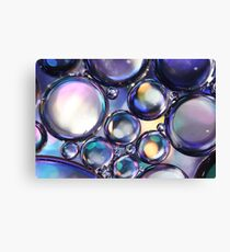 Metallic Oil  Canvas Print
