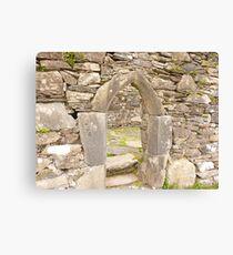 Irish Arch Canvas Print