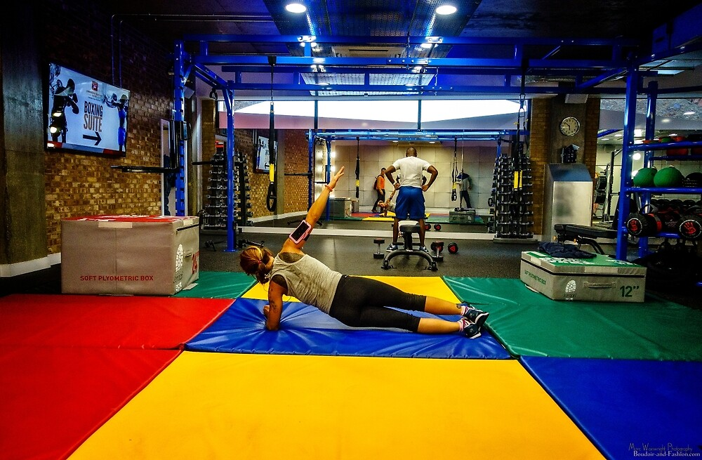 Prindiville's Fitness & Gym Centre, Limehouse Basin  by MarcW