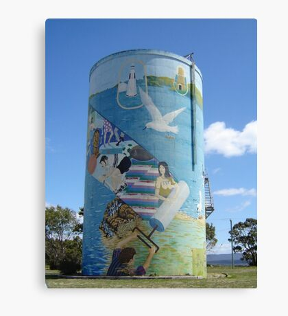 Terrific Tassie Tower Canvas Print