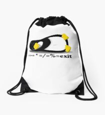 LINUX TUX THE PENGUIN Drawstring Bag