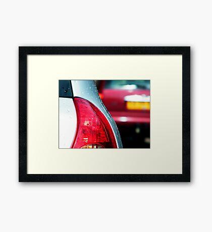 Red Light Framed Print
