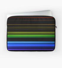 Horizontal Rainbow Bars Laptop Sleeve