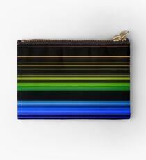 Horizontal Rainbow Bars Zipper Pouch