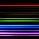 Horizontal Rainbow Bars by technoqueer