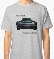 Yes,it's fast Classic T-Shirt