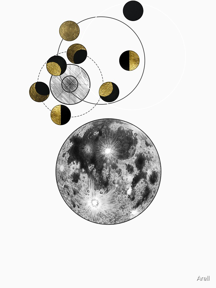 Phases of the Blue Moon by Arell
