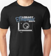 Library Snapshot Month Slim Fit T-Shirt