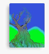 once upon a tree Canvas Print