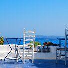 Oia Village 2, Santorini, Greece by inglesina