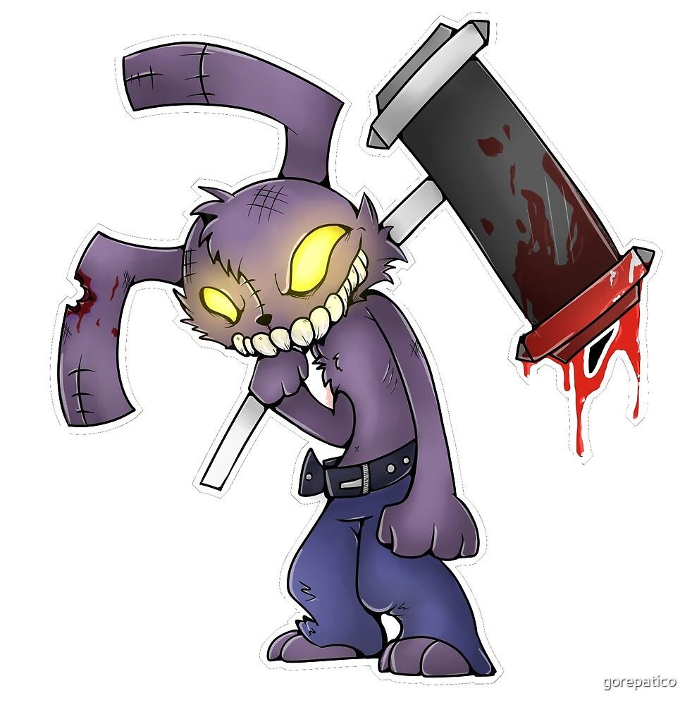 Rabbit Junk sticker by gorepatico
