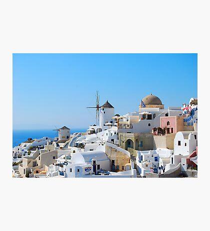 Oia Village 3, Santorini, Greece Photographic Print