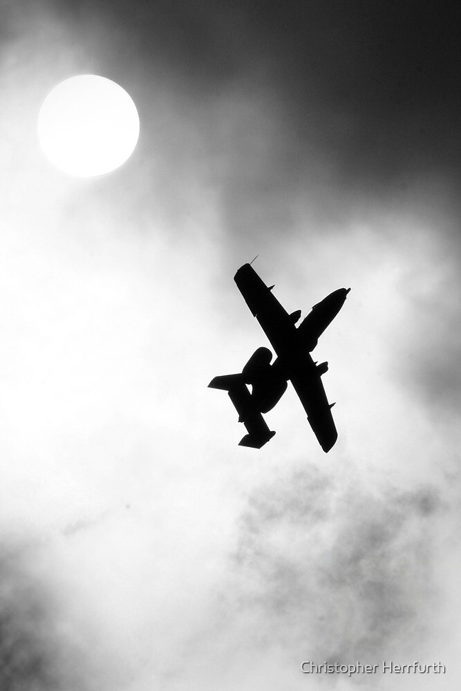 A-10 Silhouette by Christopher Herrfurth