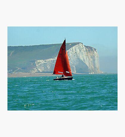 Seaford Sailing Photographic Print
