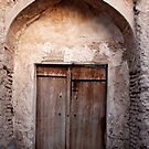 An old wooden door - Iran by mojgan