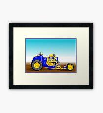 Fuel/Altered Chariot Framed Print
