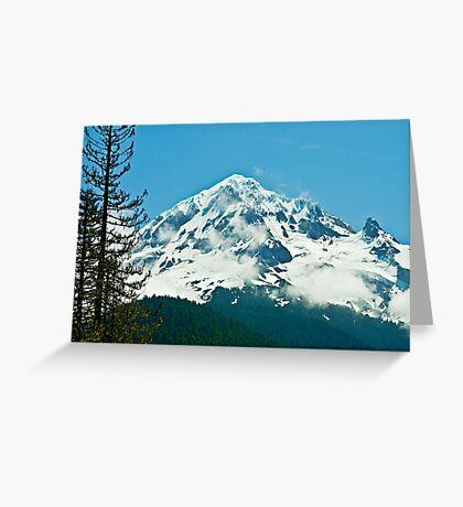 The Majestic Hood Greeting Card
