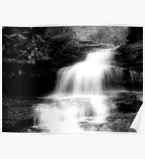 Onondaga Falls_Ricketts Glen Poster