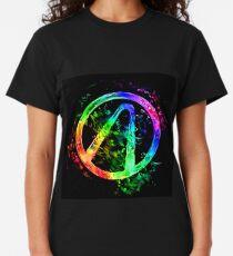 Rainbow Splash Vault Hunter Symbol Classic T-Shirt