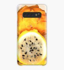 Yellow Pitahaya Case/Skin for Samsung Galaxy