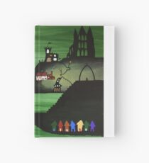 Whitby Harbour (Green) Hardcover Journal