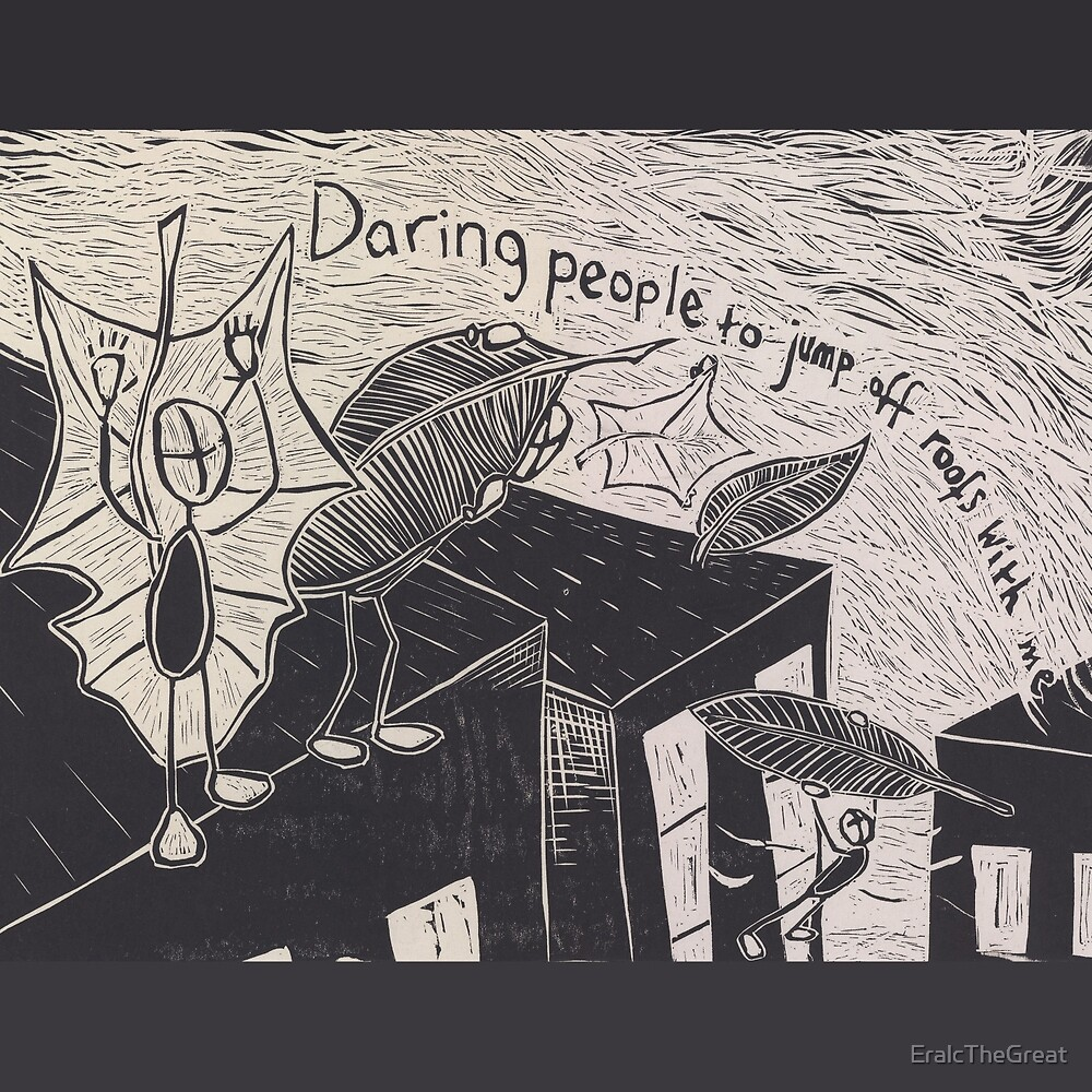Daring People To Jump by EralcTheGreat
