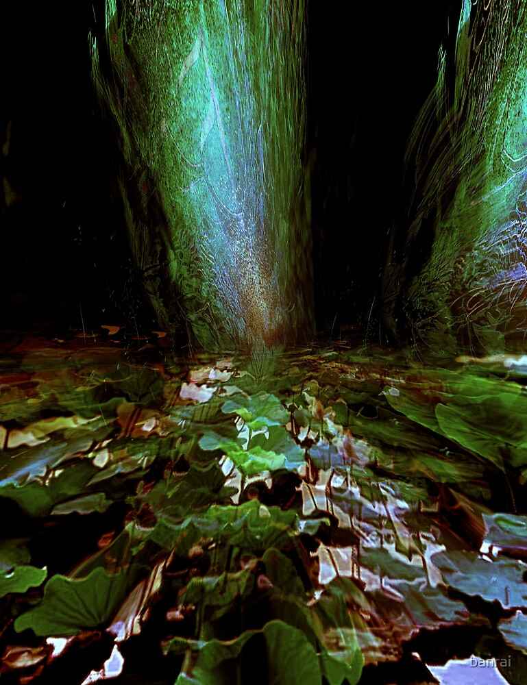 green pond....standing stones by banrai