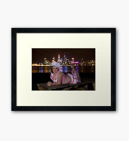 Kristy Sailor 2 Framed Print