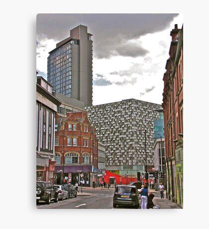 Architectural Confusion Canvas Print
