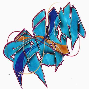 graffiti by posewok