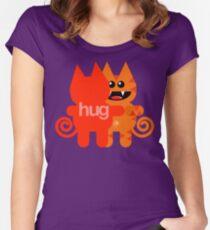 KAT HUG Women's Fitted Scoop T-Shirt